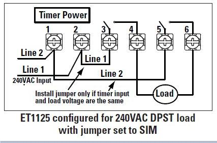 Timer on Intermatic Mechanical Timer Switch