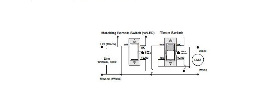 leviton switch wiring diagram 3 way leviton image hi i am installing a leviton 3way digital timer switch vpt24 on leviton switch wiring diagram