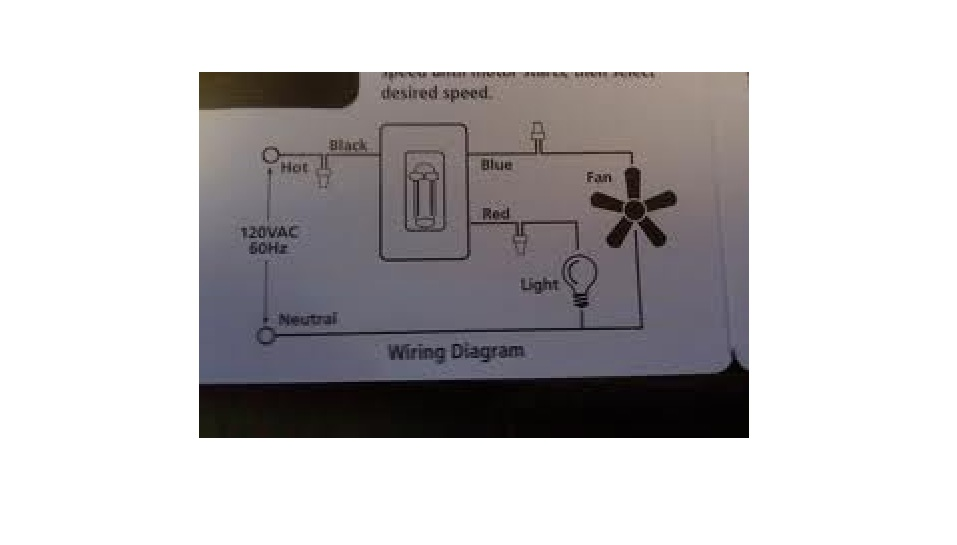 i am installing a control fan light switch light is a dimmer this is the standard wiring for that type of switch
