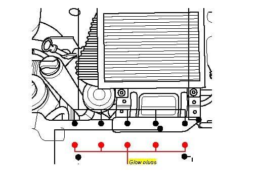 mazda 2004 2 3 fuel filter location vwt4 2 5tdi glowplug relay location glow plug location on a vw t4 transporter 2 5 tdi #12
