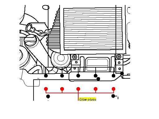 mazda 2004 2 3 fuel filter location glow plug location on a vw t4 transporter 2 5 tdi