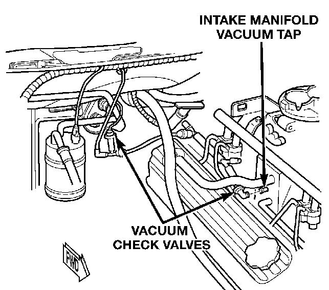 dodge avenger vacuum hose diagram