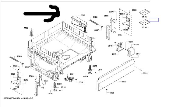 bosch dishwasher parts  bosch dishwasher parts schematic