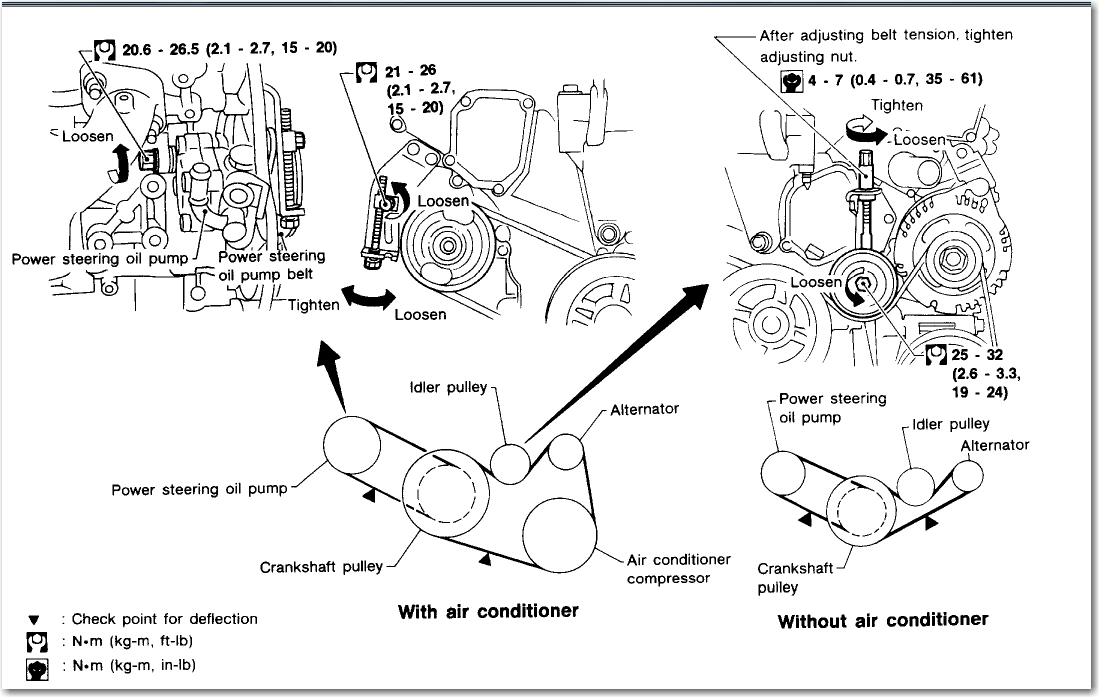 1998 infiniti i30 belt diagram