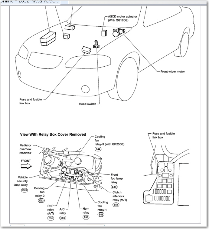 2003 nissan sentra fuse box diagram block and schematic diagrams u2022 rh artbattlesu com