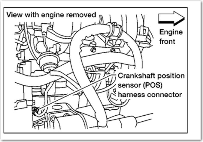 1997 toyota camry crank position sensor location