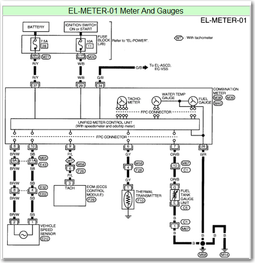nissan frontier instrument cluster schematic get free image about wiring diagram