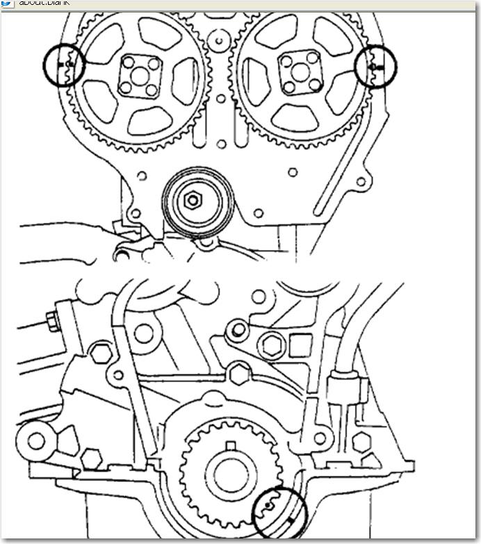 datsun nissan 1983 sentra e series sr20de factory timing