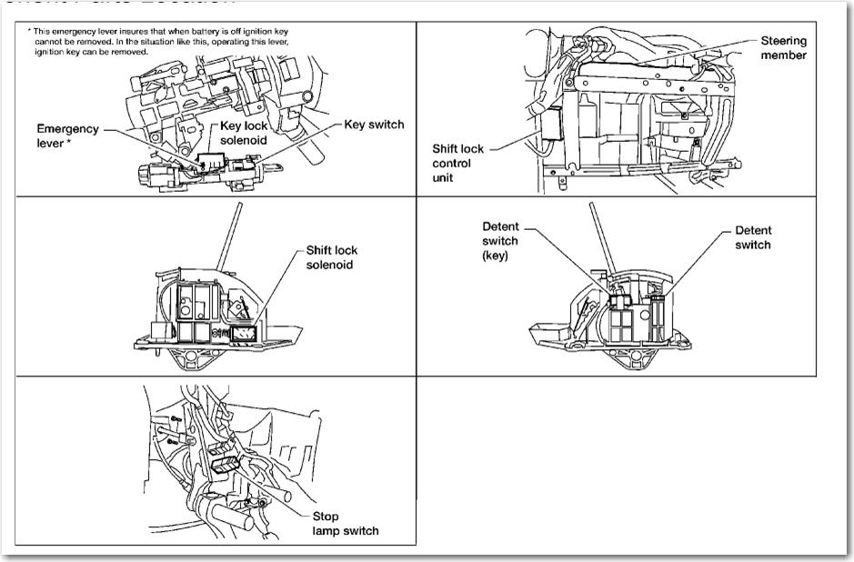 Shift Lock Solenoid Nissan Titan Forum
