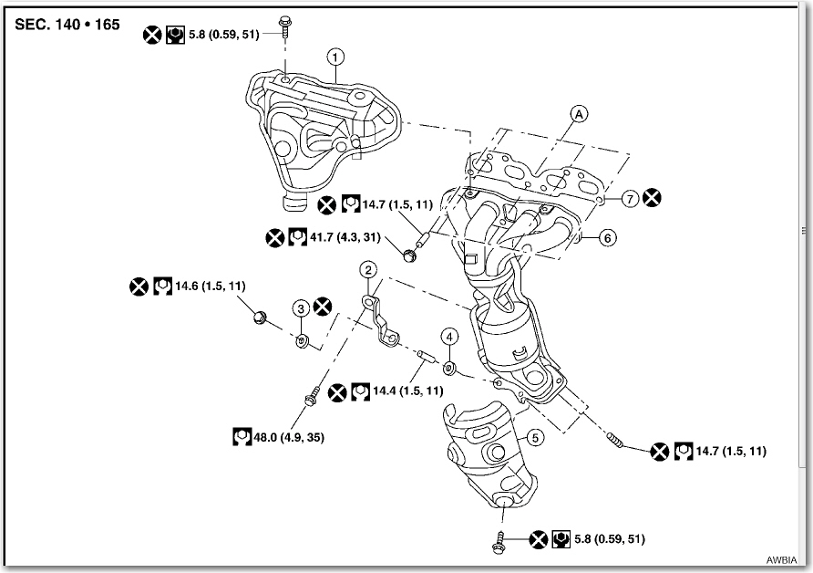 2008 nissan sentra exhaust diagram html