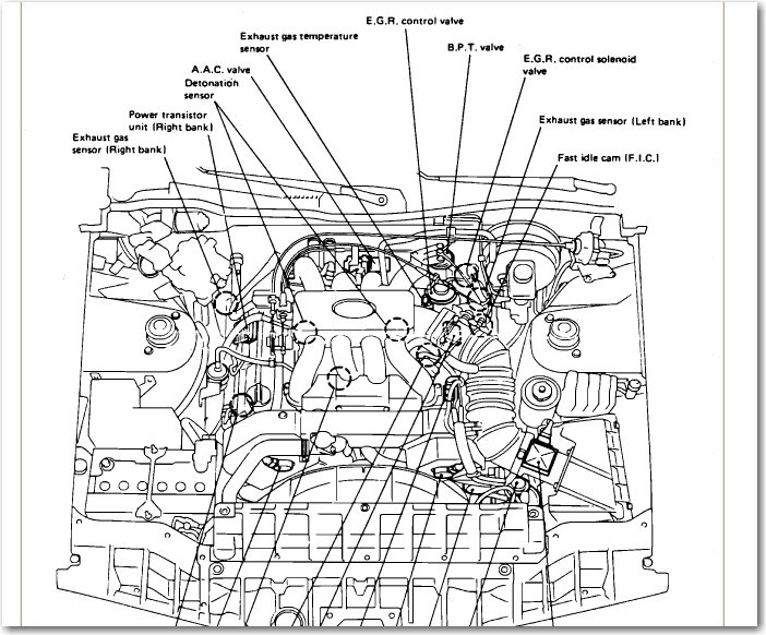 P0134 Oxygen Sensor additionally 2006 Honda Cr V Serpentine Belt together with 651792 P0325 P0138 P0139 as well P 0996b43f8036e3a6 besides Mazda Protege Parts Diagram. on 2001 infiniti i30 exhaust diagram