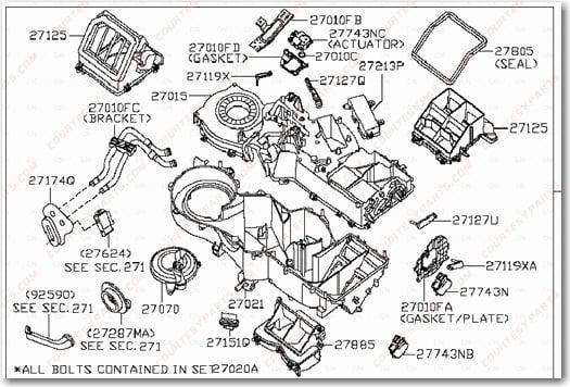 chrysler 300m bumper parts diagram  chrysler  auto wiring