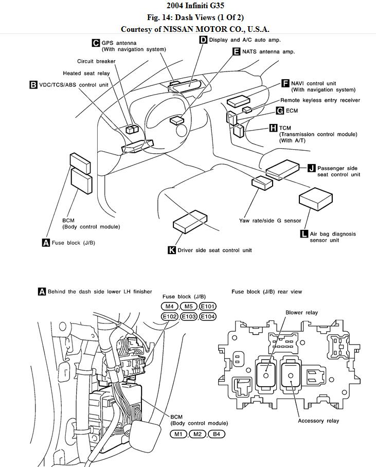 2003 nissan altima fuse locations  2003  free engine image