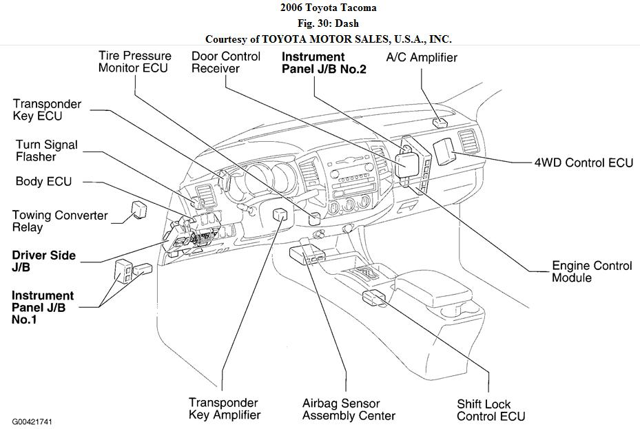 toyota tacoma diagram