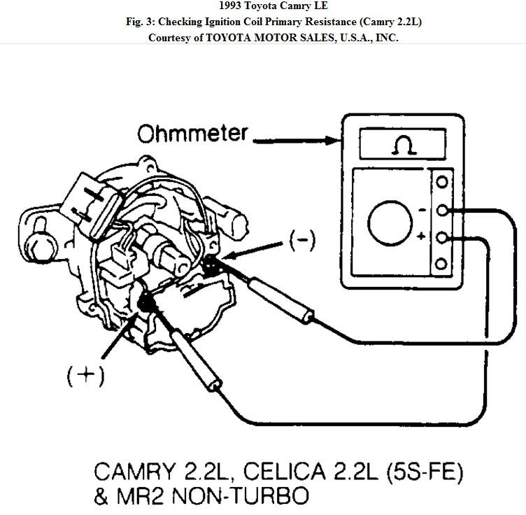 94 Toyota Camry Ignition System
