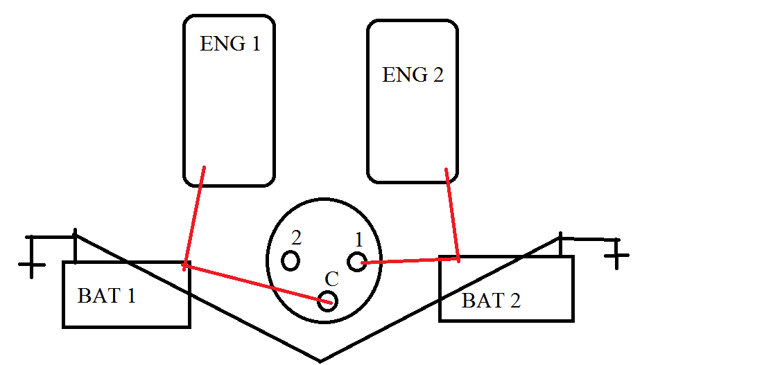what is the proper diagram to install a battery switch