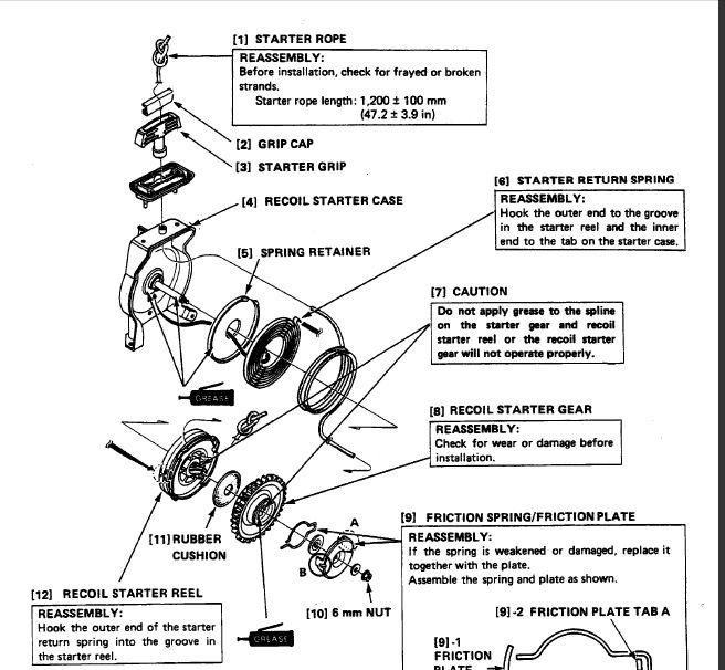 beague  archive honda boat motor service manual