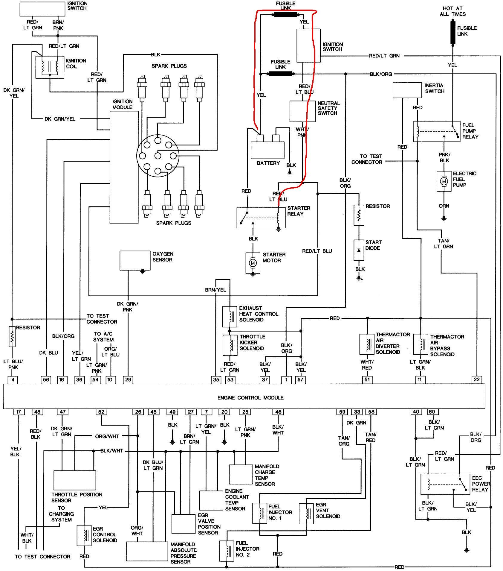 alternator wiring diagram for 1991 ford f 350 alternator 1969 mustang starter solenoid wiring