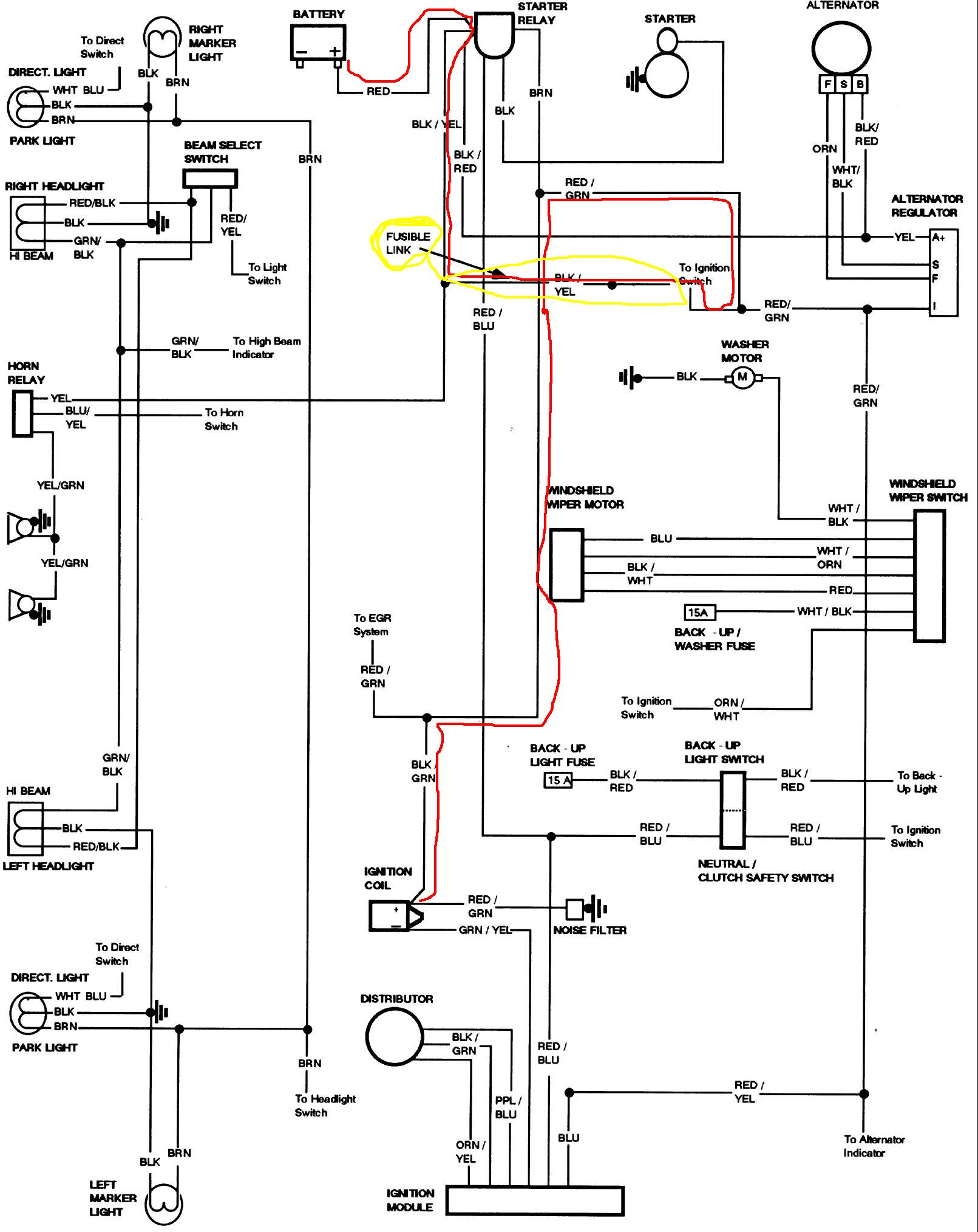 have a  u0026 39 76f100 engine turns over but will not fire have changed coil and checked wiring for