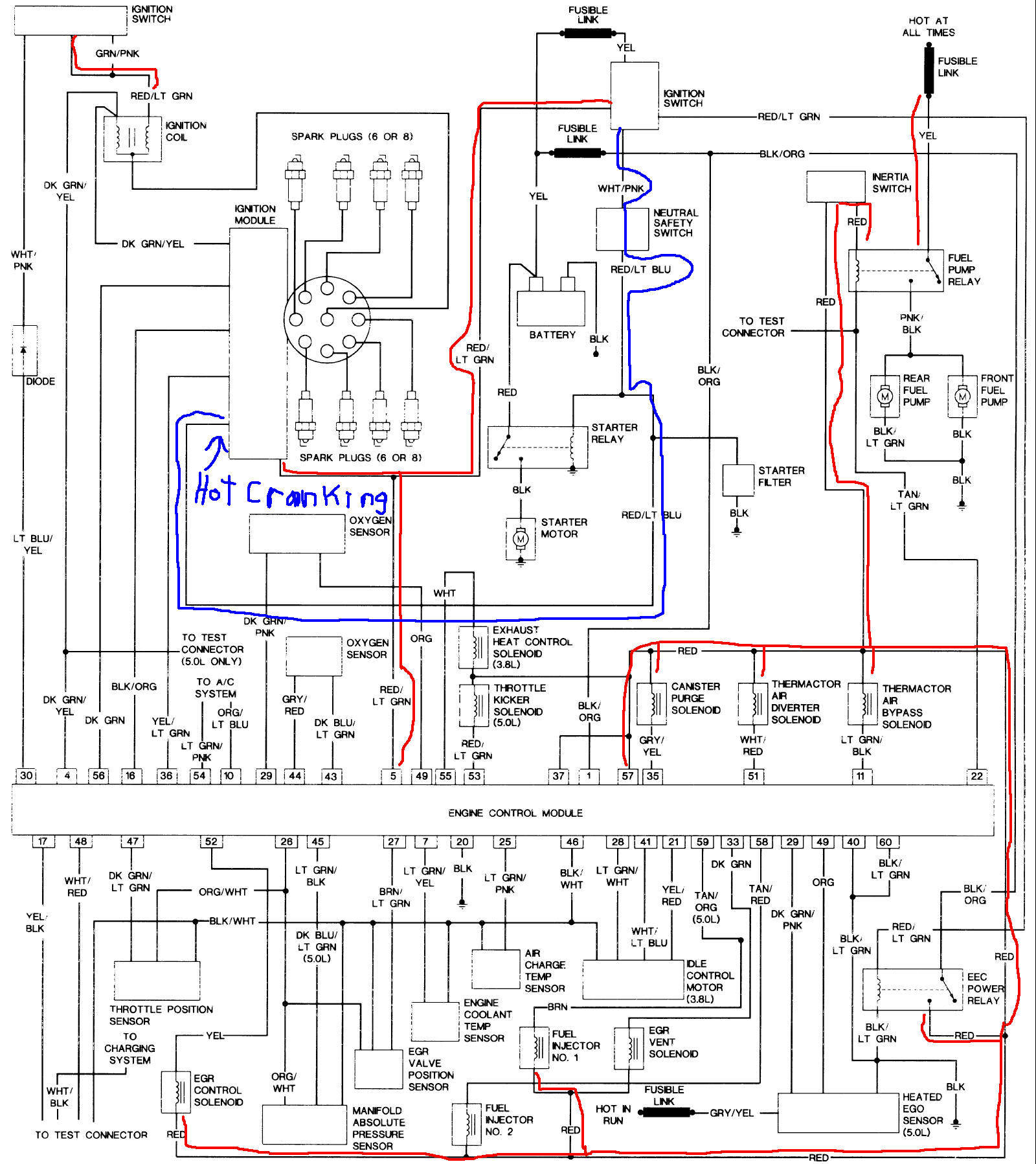 1985 ford crown victoria wiring diagram  1985  free engine 1988 ford crown victoria radio wiring diagram 2004 Ford Crown Victoria Wiring Diagram
