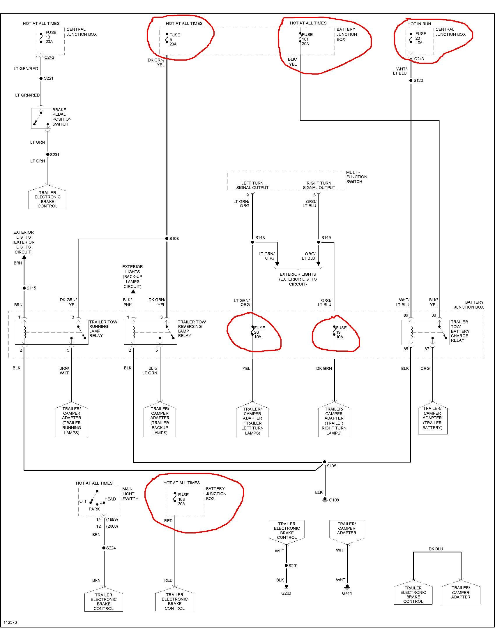 ford f150 trailer plug wiring diagram images gallery of ford f150 trailer plug wiring diagram 2000 f 150 trailer factory installed tow truck lights work