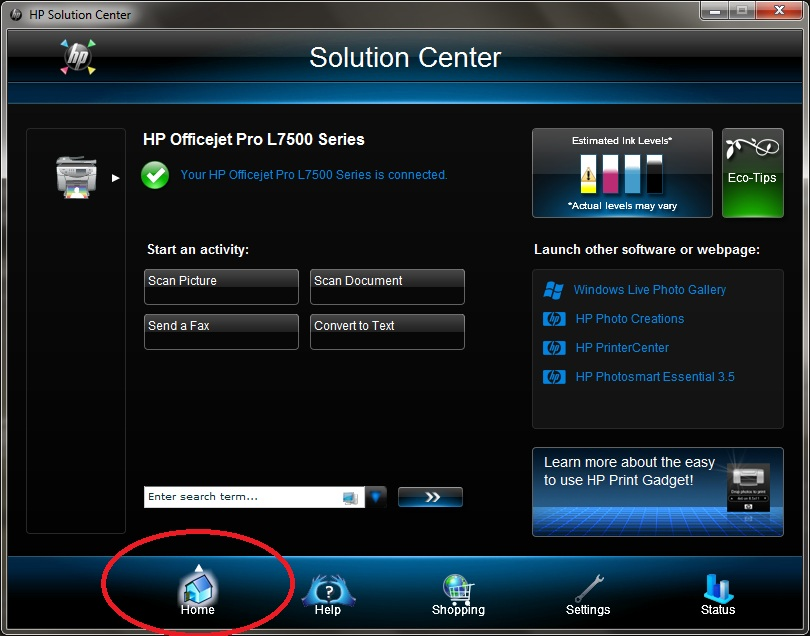 How to uninstall hp solution center pdf online