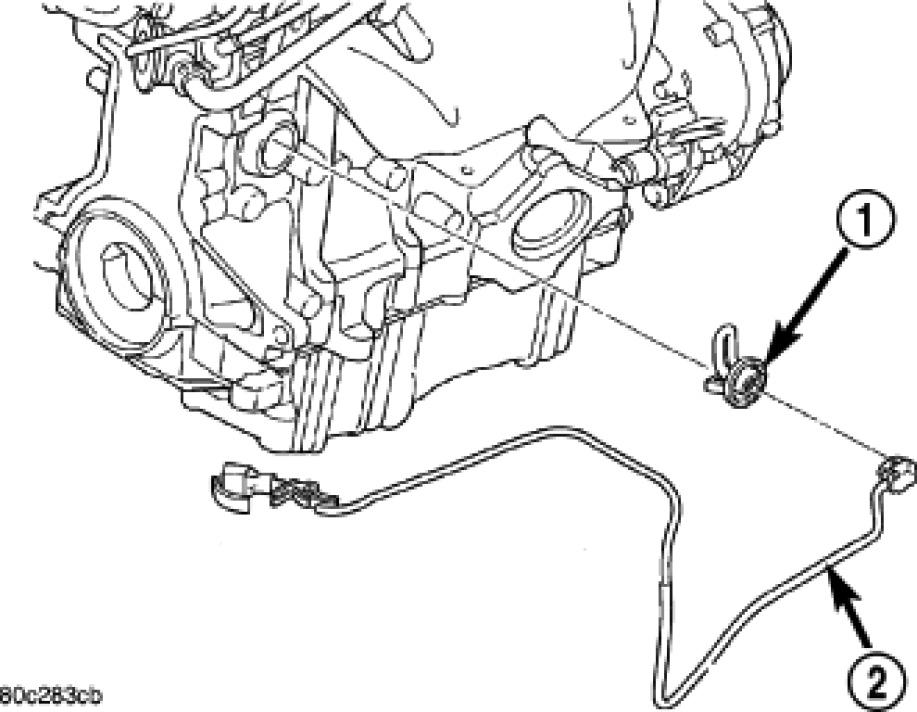 Where Can I Find My Block Heater 2008 Sebring 4 Cyl