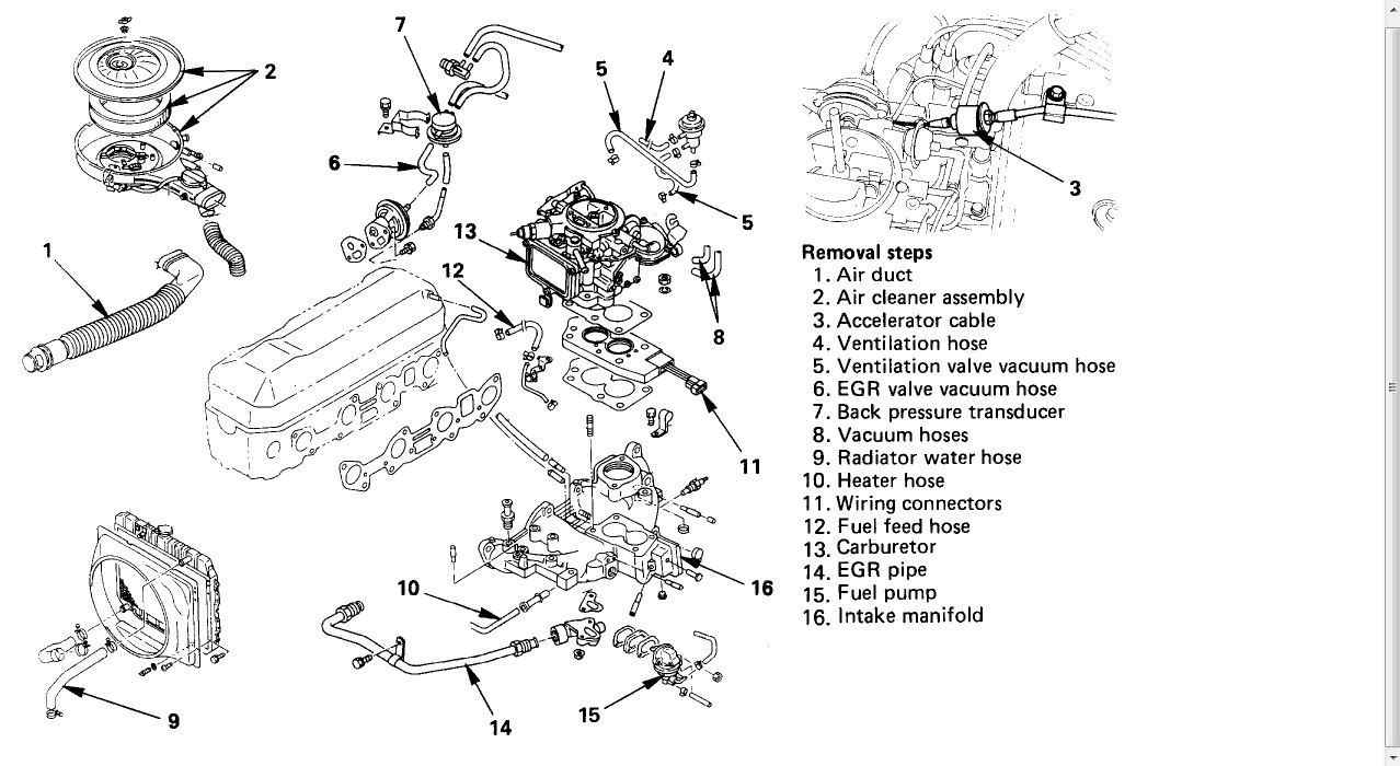 least number of steps to replace mechanical fuel pump 94
