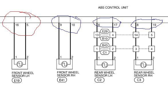 wiring diagram for abs plug wiring image wiring nissan navara d40 trailer plug wiring diagram wiring diagram and on wiring diagram for abs plug