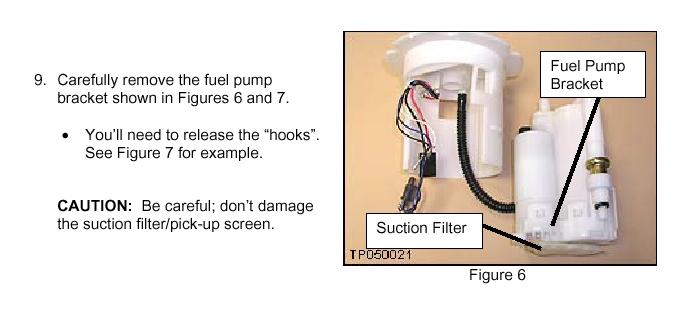 Fuel Repair on Nissan Sentra Fuel Pump Access