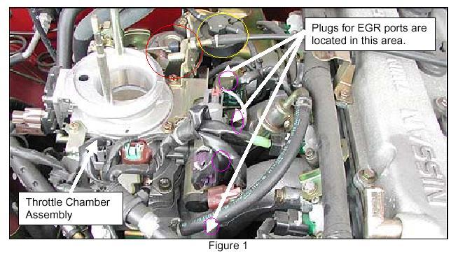 egr valve location 2000 nissan frontier