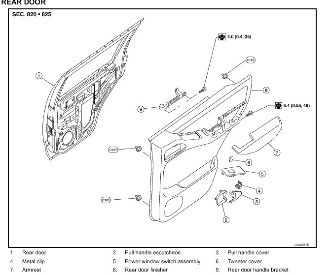2004 nissan quest trim diagram html