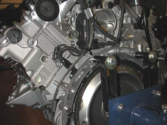 where is engine coolant sensor on 2007 mercedes c280 v6