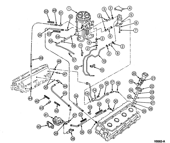 2000 Ford 7 3 Diesel Fuel System Diagram