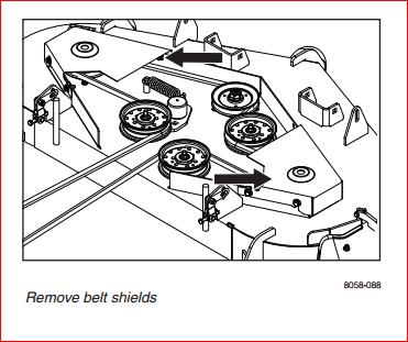 husqvarna rz5424 model 289820 where deck spring for belt go graphic graphic graphic