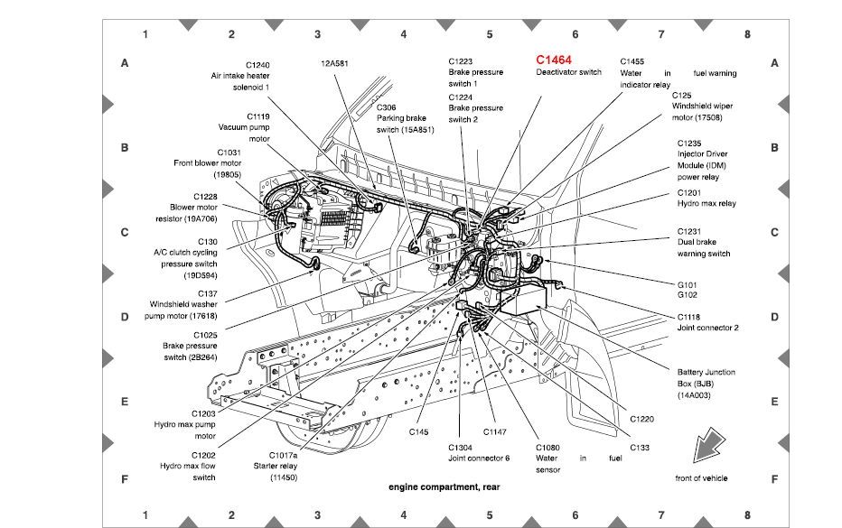 wiring diagram 2005 ford f650 2004 ford f550 fuse box