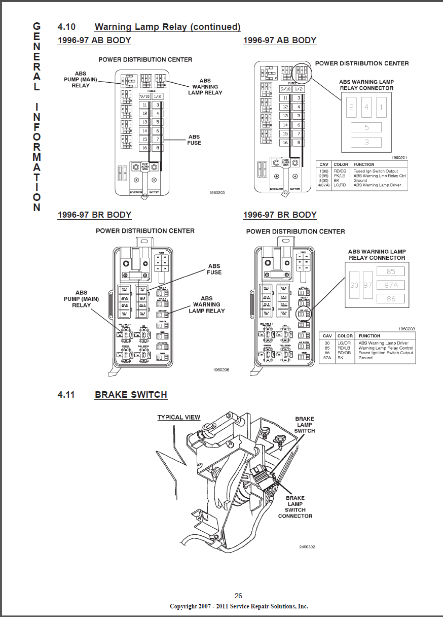 Fuse on 01 Dodge Ram Wiring Diagram