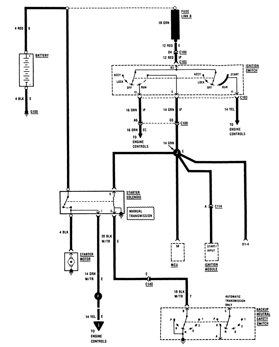 Tj Starting System Wiring Diagram Detailed Schematics Diagram 2000 Ford Starter  Relay Diagram Jeep Starter Relay Wiring Diagram
