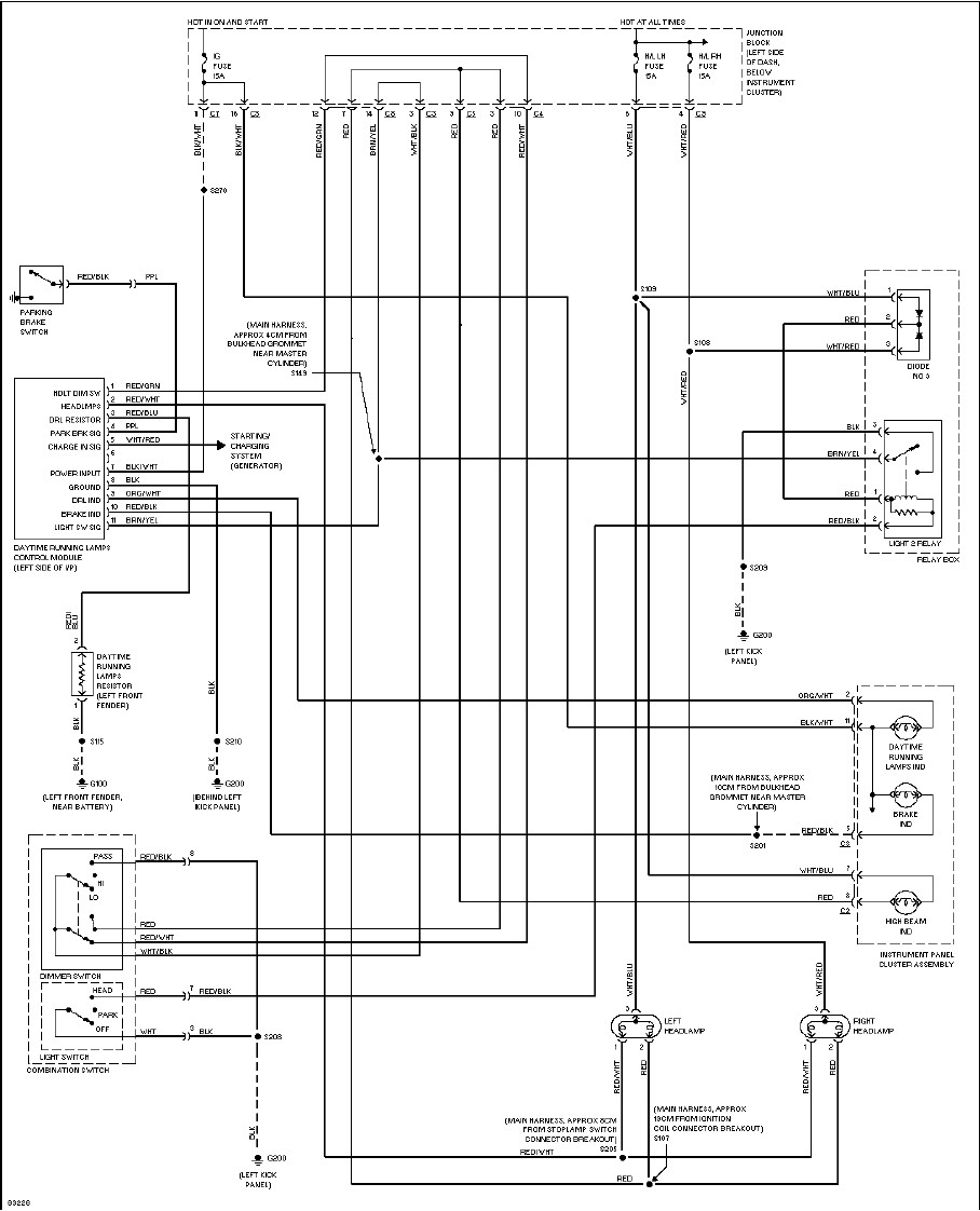 96 Geo Metro Radio Wiring Diagram