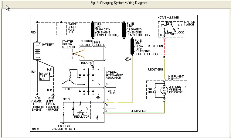 2000 ford taurus fuse box diagram under hood where is the fusible link on a 1994 ford taurus station wagon 1994 ford taurus fuse box