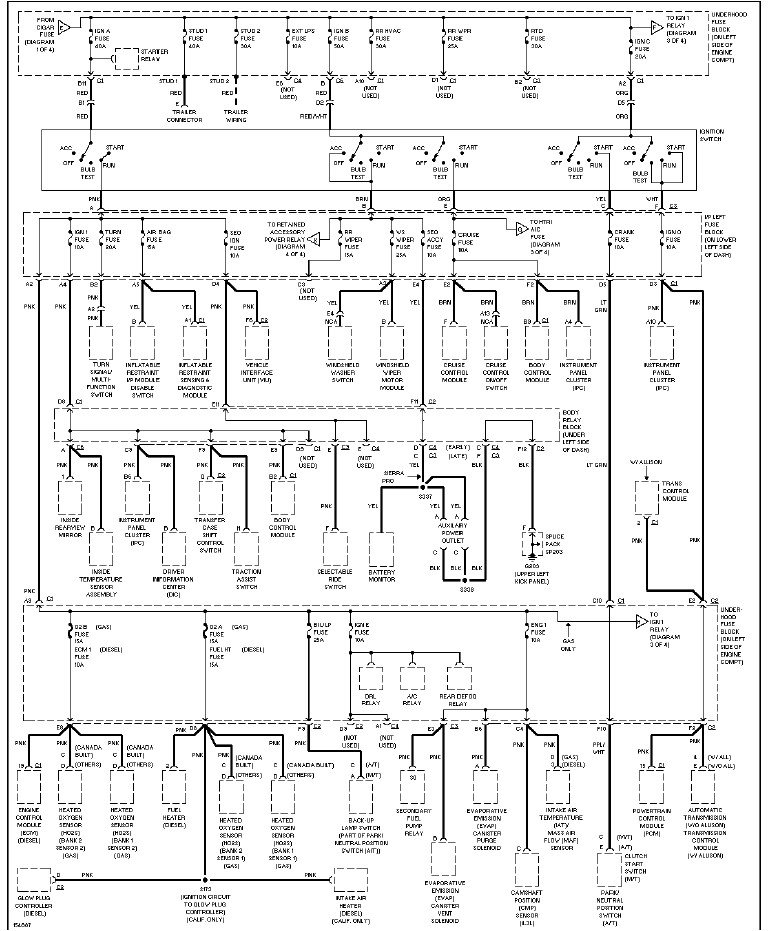 chevy 2500 hd stereo wiring diagram  chevy  get free image