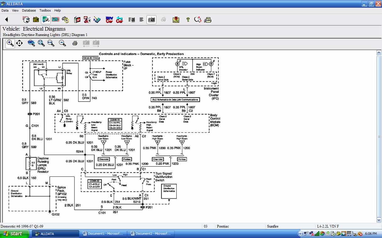 pontiac sunfire headlight wiring diagram pontiac get free image about wiring diagram