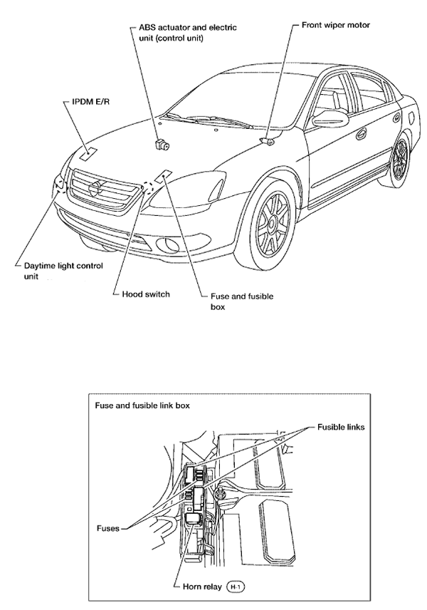 fuse box diagram furthermore 2005 nissan altima 2 5  fuse
