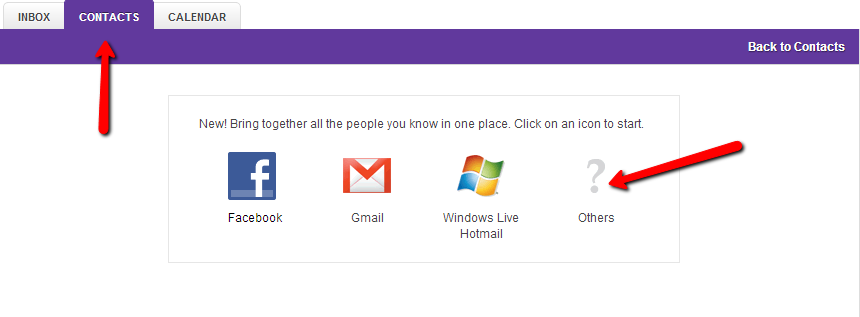 how to keep my emails in a new account yahoo