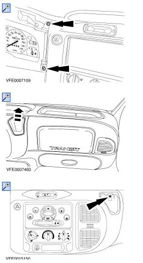 how to replace heater radator in 2006 ford transit