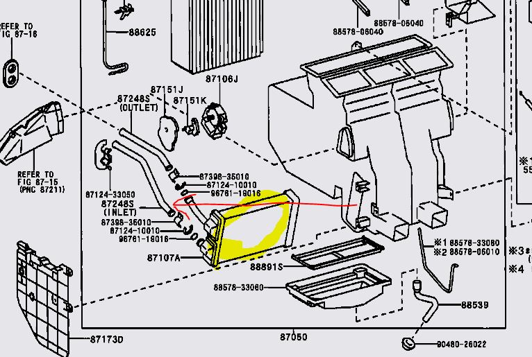 95 toyota pickup fuse box diagram  95  get free image