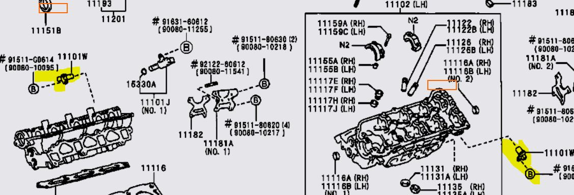 toyota fj cruiser camshaft position sensor location