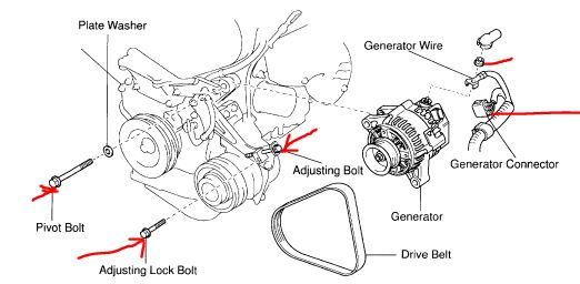 2001 toyota sienna serpentine belt diagram html