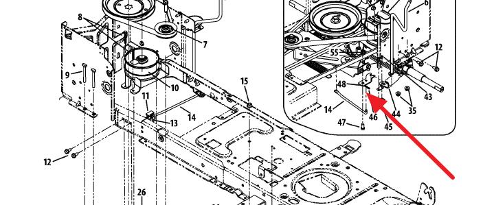 cub cadet 1054 parts diagram  cub  get free image about