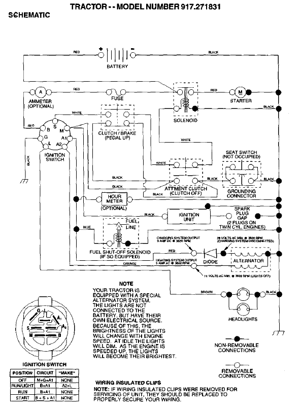 small engine kill switch schematic